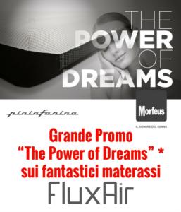 Morfeus FluxAir Pininfarina materassi